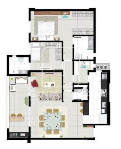 Apartamento à venda com 3 dormitórios em Bonfim paulista, Ribeirao preto cod:43677 - Foto 16