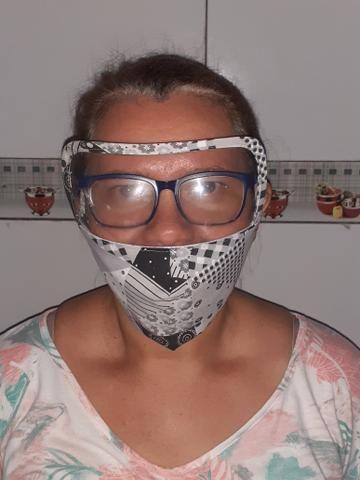 Mascara com visor - Foto 2
