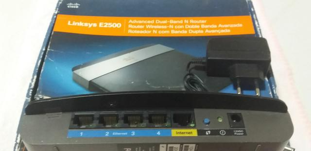 Vendo Roteador Wifi Cisco Linksys E2500 N300  - Foto 2