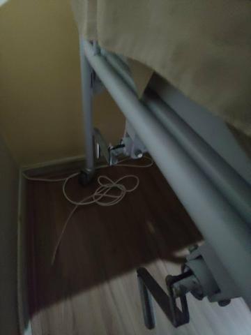 Cama reclinável com protetor e colchão massageador - Foto 2