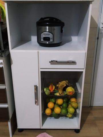 Fruteira com suporte para microondas