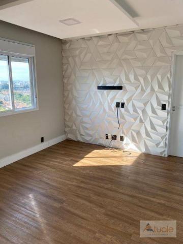 Apartamento com 2 dormitórios para alugar, 69 m² por R$ 2.400,00/mês - Jardim Chapadão - C - Foto 8