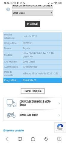 Hilux CD SRV D4-D 4x4 3.0 TDI Dies - Foto 7