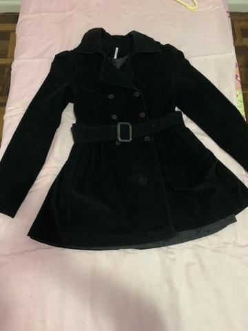 Lindo casaco de veludo tamanho P/M