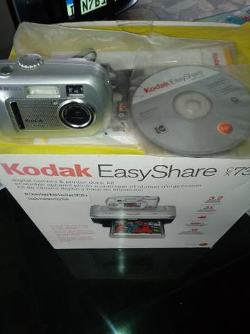 Camera digital kodak com impressora - Foto 2
