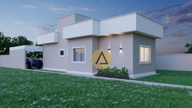 Casa com 3 dormitórios à venda, 110 m² por R$ 500.000 - Bela Vista - Rio das Ostras/RJ - Foto 2