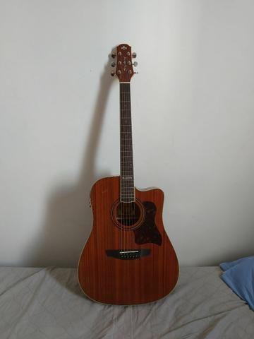 Vendo Violão strinberg folk sd20c mogno (troco por guitarra e cubo)