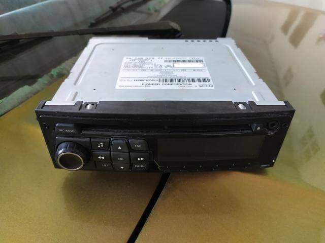 RADIO ORIGINAL CITROEN PEUGEOT MP3 com visor LCD - Foto 3