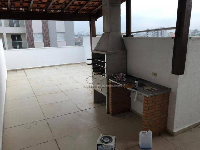 Cobertura com 2 dormitórios à venda, 100 m² por R$ 445.000,00 - Campestre - Santo André/SP - Foto 8