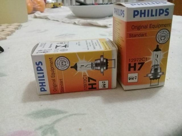 Lâmpada H7 forte 100w aceito cartão - Foto 3