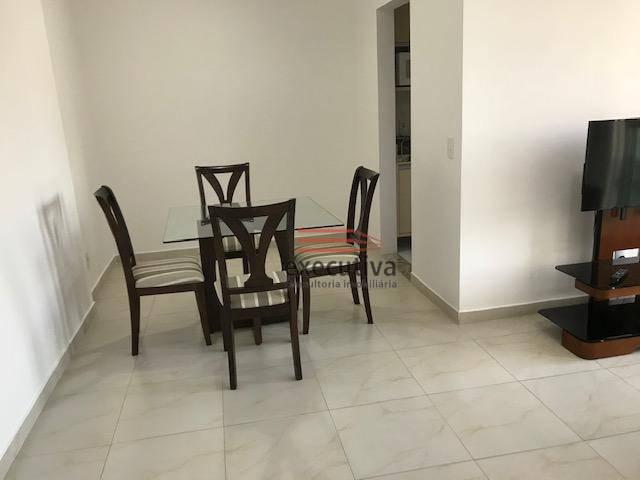 Apartamento com 1 dormitório para alugar, 57 m² por R$ 1.850,00/mês - Jardim das Colinas - - Foto 13