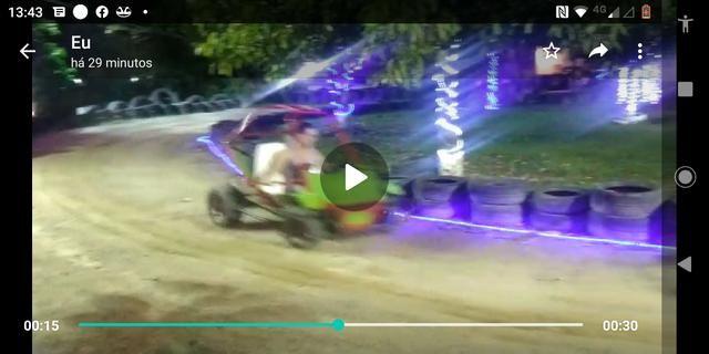 Vendo pista com 3 mini buggy caioba - Foto 4