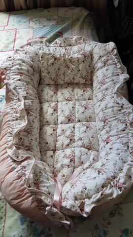 Ninho de bebê redutor de berço + Almofada de Amamentação - Foto 4