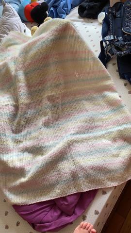 Manta de lã bebê