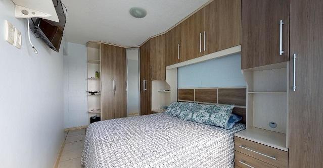 Vende Apto 2 Dormitórios com Garagem Coberta - Foto 6