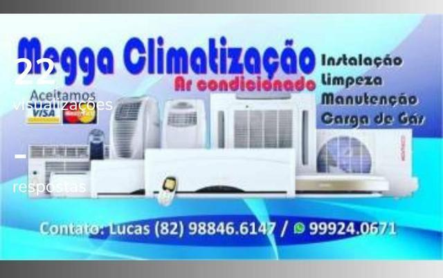 Instalação e manuntençao de ar condicionado