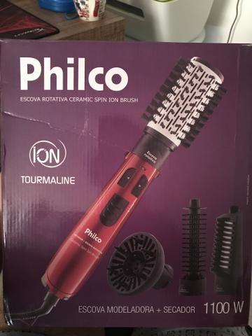 Escova rotativa Philco ceramic spin ion brush