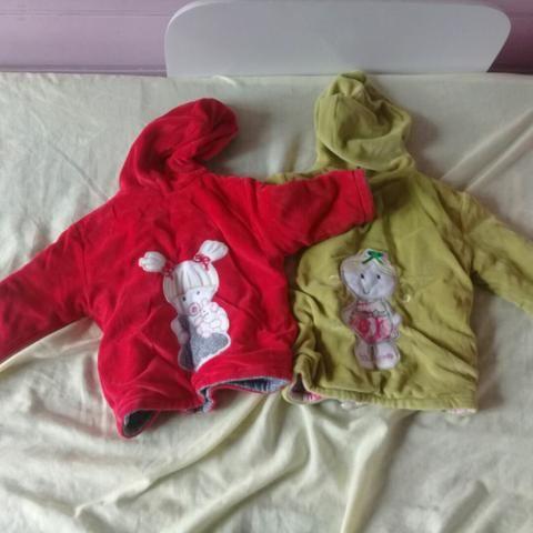 Abrigos quentes + roupas infantis - Foto 3