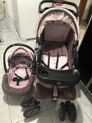 Carrinho de bebê ( menina) baby style