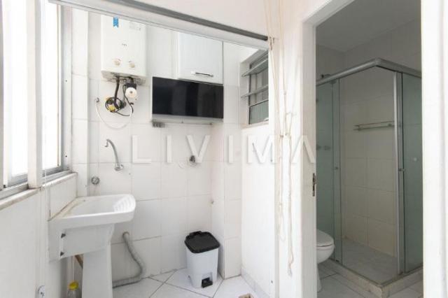 Apartamento para alugar com 2 dormitórios em Copacabana, Rio de janeiro cod:LIV-6243 - Foto 12