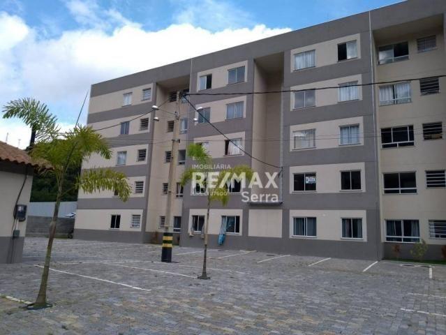 Apartamento com 2 dormitórios à venda, 48 m² por R$ 169.000,00 - Pimenteiras - Teresópolis