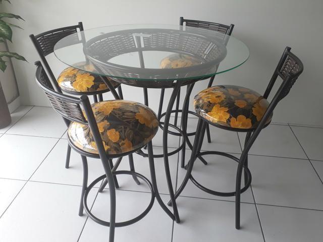 Mesa com banquetas * 5 x sem JUROS - Foto 4