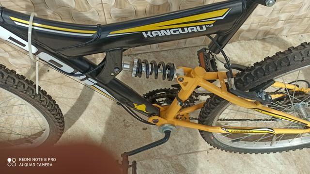 Bicicleta aro 26 sem uso - Foto 3