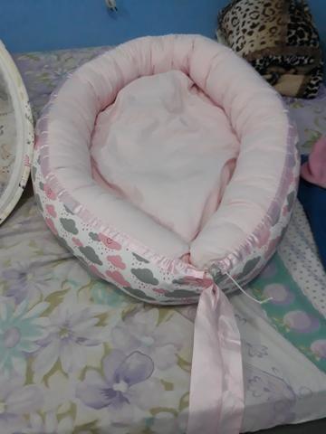 Vendo ninho de bb menina rosa