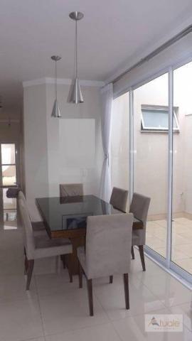 Casa com 3 dormitórios para alugar, 195 m² por R$ 2.605,00/mês - Residencial Real Parque S - Foto 3
