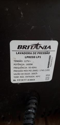Lavadora de alta pressão 1600W nova - Foto 4