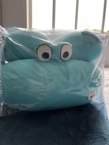 Almofada para banho baby pil Azul