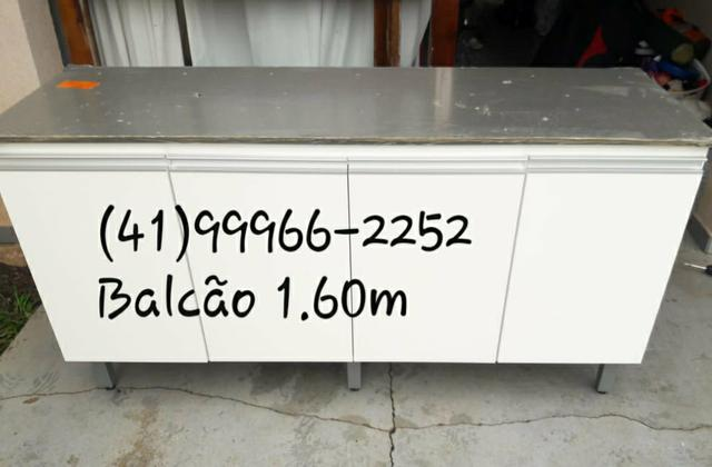 Balcão de Cozinha de 1.60m