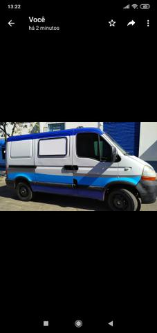 Van Renault Master Furgão curto Diesel 2010 - Foto 2