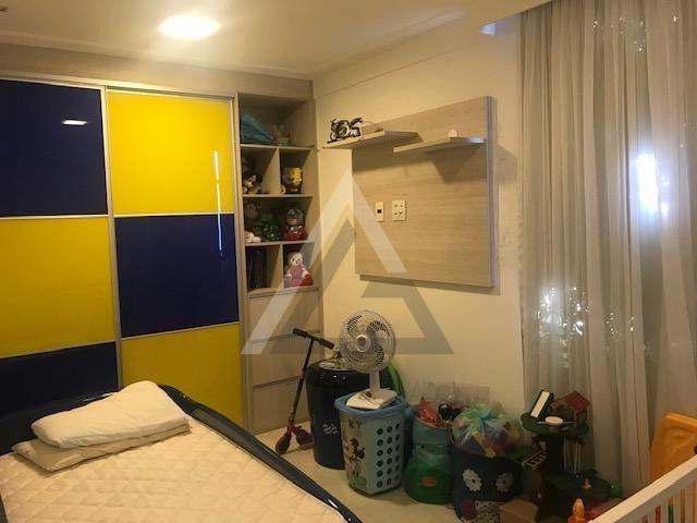 Apartamento mobiliado, nascente, andar alto 4 quartos em Patamares/Salvador-BA - Foto 18
