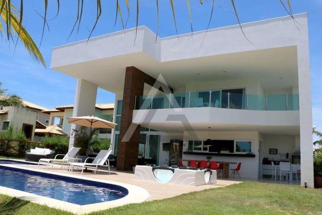 Casa de luxo mobiliada 6 quartos em Guarajuba/Camaçari-BA