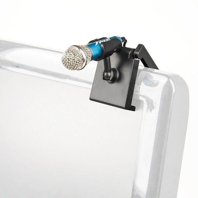 Mini Microfone P2 Para Gravação Celular Youtube Rosa Kp907 - Foto 2