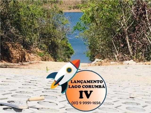 Parcelas de 399 lotes planos / lago / Corumba iv - Foto 5