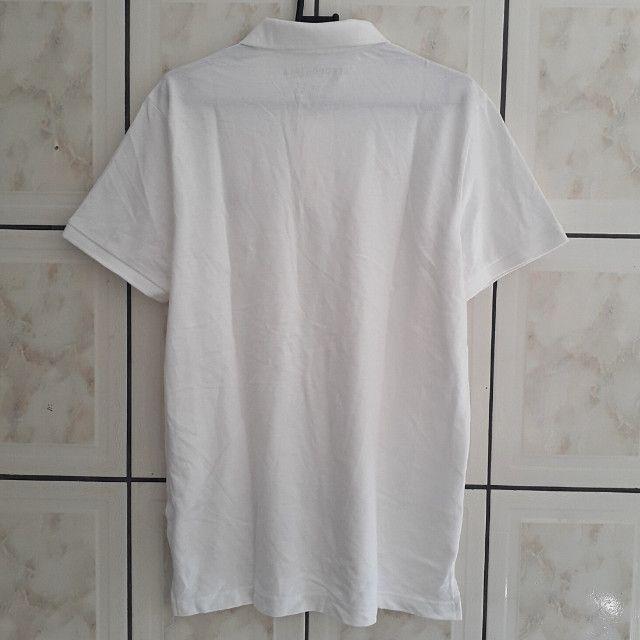 Camisa Polo Aeropostale A87 Branca Adulto Masculino Original Nova (Tamanho: G) - Foto 2