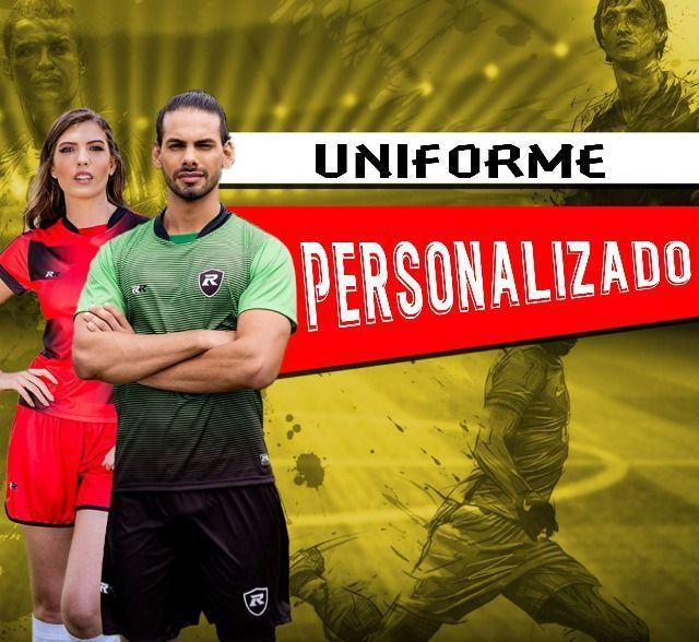 Uniformes de futebol personalizados