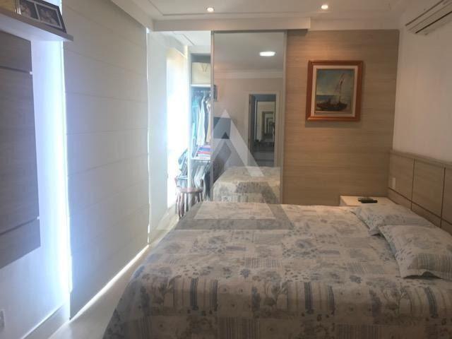 Apartamento mobiliado, nascente, andar alto 4 quartos em Patamares/Salvador-BA - Foto 12