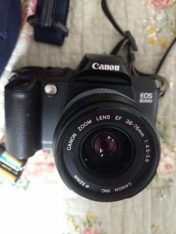 Camera fotografica Analogica Canon EOS 5000 com filme - Foto 2