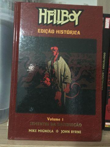 Hellboy - Edição Histórica - Vol. 1 - Sementes Da Destruição