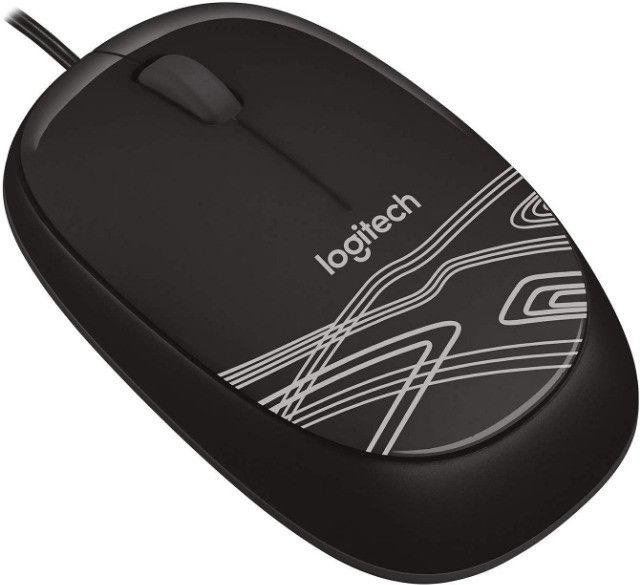 Mouse Logitech M105 USB Preto - 910-002958 - Foto 3