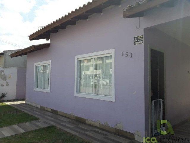 C308-Casa financiável com 2 dormitórios - Barra do Aririú - Palhoça