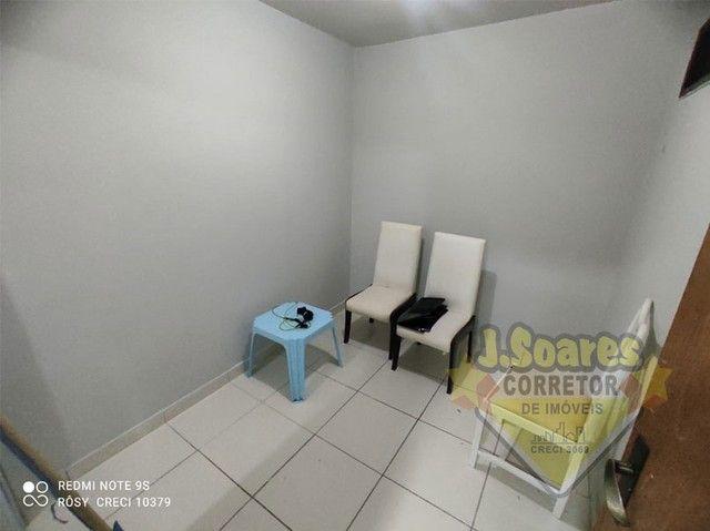 Bessa, 3 quartos, DCE, suíte, 95m², R$ 1.500 C/Cond, Aluguel, Apartamento, João Pessoa - Foto 11