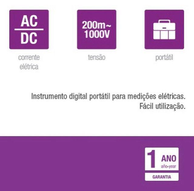 MULTÍMETRO DIGITAL - Foto 2