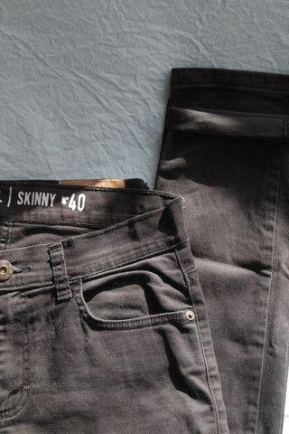 Calça jeans preta - Foto 3