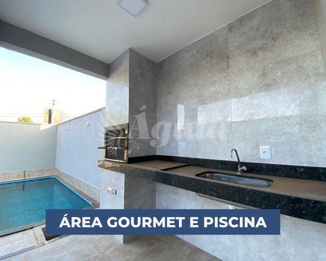 Casa com 3 quartos, piscina e área gourmet - Vila Pedroso, Goiânia - Foto 7
