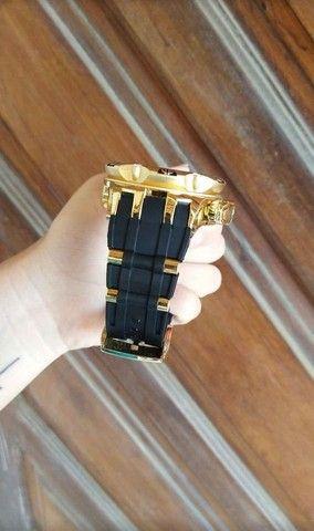 Invicta hybrid pulseira silicone, aprova d'gua, fazemos entrega - Foto 3