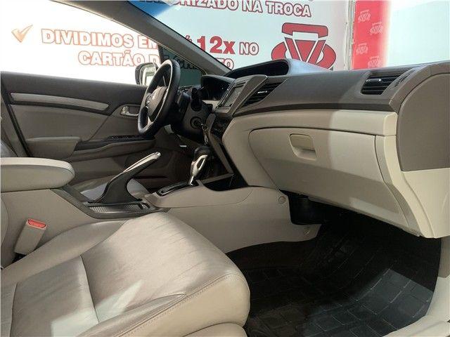 Civic EXR 2.0 Flex 16v Automático Maravilhoso! - Foto 19